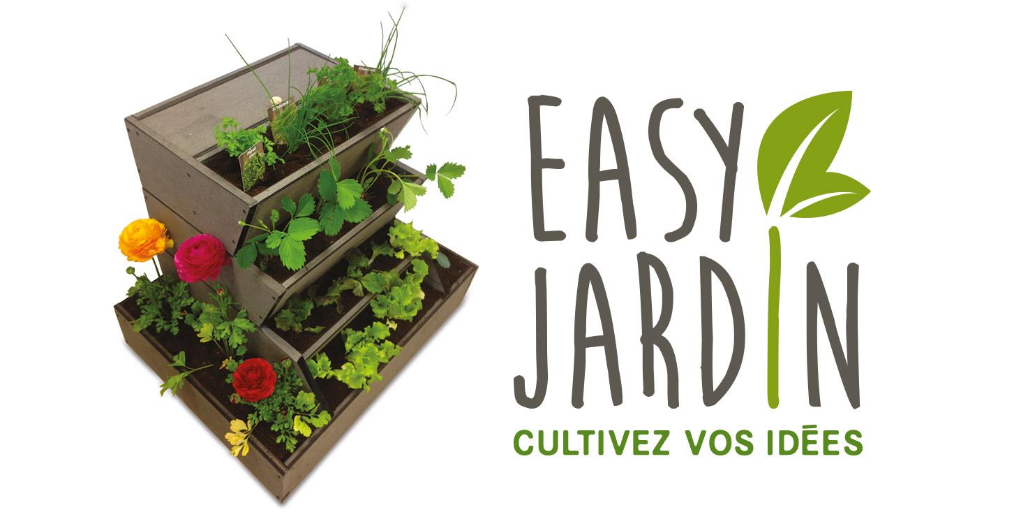 Potager composteur easy jardin o 39 bio potager - Kit plante aromatique interieur ...