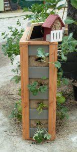 Potager en palette, Mur végétal potager, mur végétal légumes