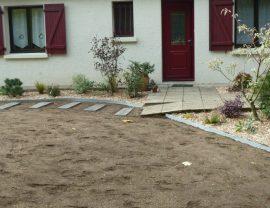 Conception et aménagement de jardin et engazonnement