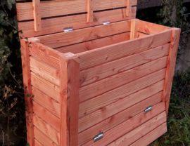Composteur 100 x 40 x 90 en bois de Douglas huilé