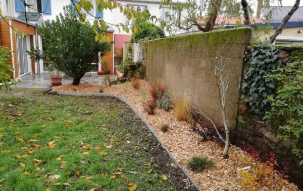 Conception et aménagement de jardin à Saint Sébastien Sur Loire