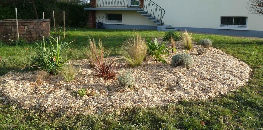 Amenagement jardin avec graminees top dcoration jardin et for Kit amenagement jardin