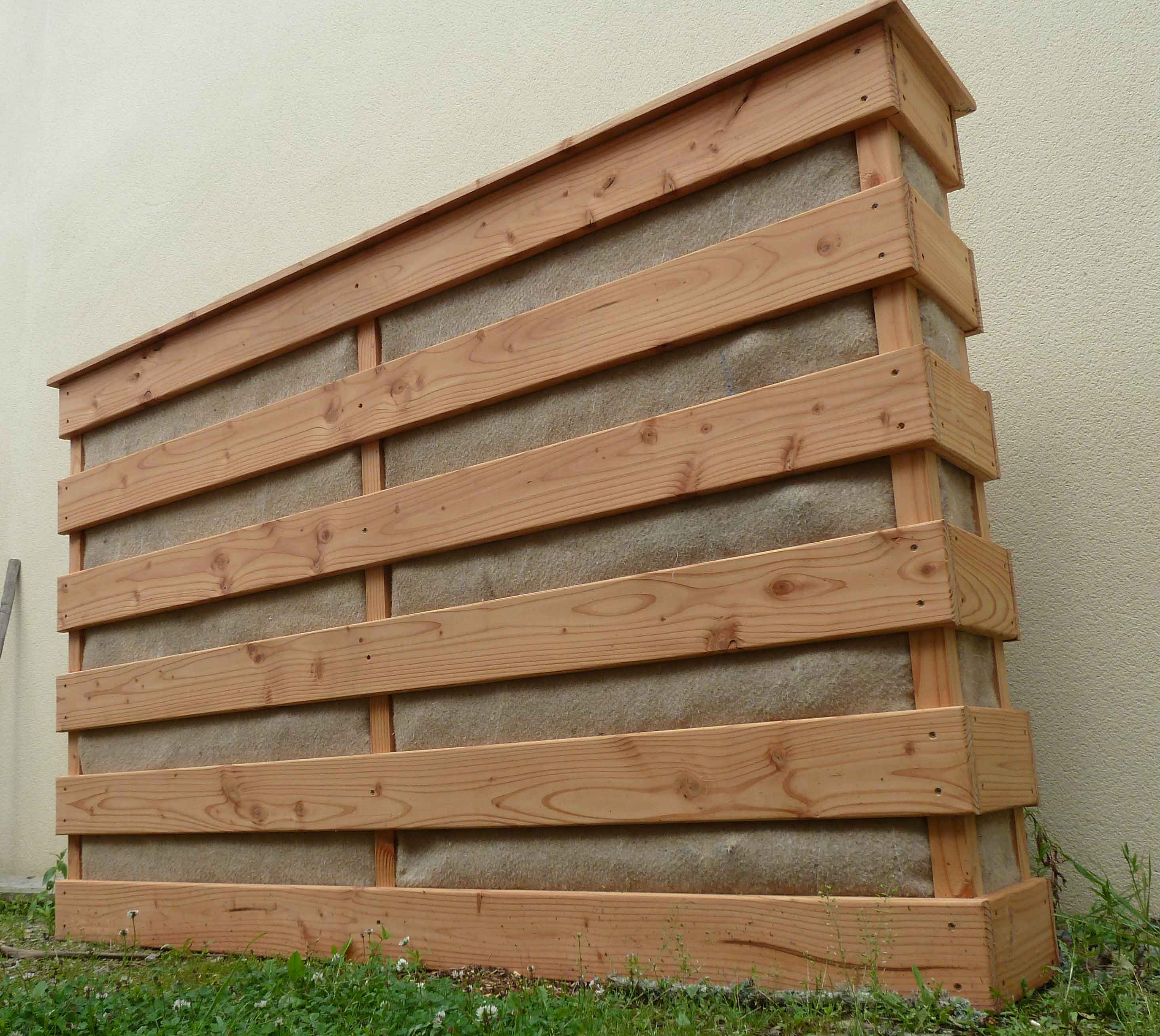 potager vertical 200 x 130 en douglas o 39 bio potager. Black Bedroom Furniture Sets. Home Design Ideas